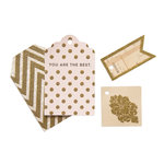 My Mind's Eye - Vintage Collection - Tag Box with Glitter Accents