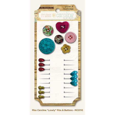 My Mind's Eye - Miss Caroline Collection - Howdy Doody - Pins and Buttons - Lovely
