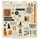 My Mind's Eye - Mischievous Collection - Halloween - 12 x 12 Chipboard Stickers - Elements