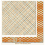 My Mind's Eye - Mischievous Collection - Halloween - 12 x 12 Double Sided Paper - Spooky Plaid