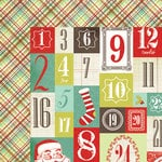 My Mind's Eye - Mistletoe Magic Collection - Christmas - 12 x 12 Double Sided Paper - Countdown