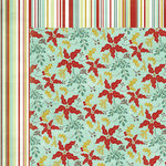My Mind's Eye - Mistletoe Magic Collection - Christmas - 12 x 12 Double Sided Paper - Mistletoe Magic