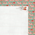 My Mind's Eye - Mistletoe Magic Collection - Christmas - 12 x 12 Double Sided Paper - Ledger