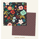 My Mind's Eye - Market Street Collection - Ashbury Heights - 12 x 12 Double Sided Paper - Gardens