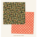 My Mind's Eye - Market Street Collection - Nob Hill - 12 x 12 Double Sided Paper - Fields