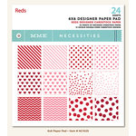 My Mind's Eye - Necessities Collection - Reds - 6 x 6 Paper Pad