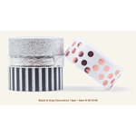 My Mind's Eye - Necessities Collection - Black and Gray - Decorative Tape