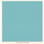 My Mind's Eye - Necessities Collection - Teals - 12 x 12 Paper - Triangle