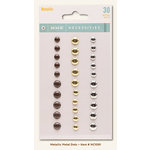 My Mind's Eye - Necessities Collection - Metallic - Metal Dots