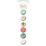 My Mind's Eye - On Trend Collection - Sweet - Flair - Decorative Buttons