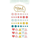 My Mind's Eye - On Trend Collection - Party - Enamel Shapes