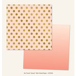 My Mind's Eye - On Trend Collection - Sweet - 12 x 12 Double Sided Paper with Foil Accents - Silly