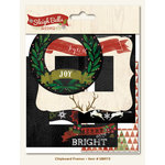My Mind's Eye - Sleigh Bells Ring Collection - Christmas - Chipboard Frames