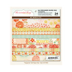 My Mind's Eye - The Sweetest Thing Collection - Tangerine - 6 x 6 Paper Pad