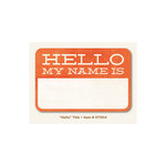 My Mind's Eye - The Sweetest Thing Collection - Tangerine - Title - Hello