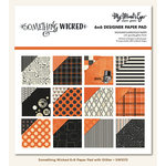 My Mind's Eye - Something Wicked Collection - Halloween - 6 x 6 Paper Pad