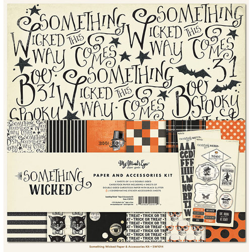 My Mind's Eye - Something Wicked Collection - Halloween - 12 x 12 Paper and Accessories Kit