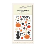 My Mind's Eye - Something Wicked Collection - Halloween - Enamel Shapes