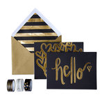 My Mind's Eye - Trend Collection - Card Box Kit - Hello
