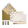 My Mind's Eye - Trend Collection - Card Box Kit - Just a Little Note