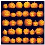 Masterpiece Studios - Stemma - 12x12 Paper - Carved Pumpkins