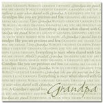 Masterpiece Studios - Stemma - 12x12 Paper - I Love Grandpa