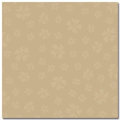 Masterpiece Studios - Stemma - 12x12 Paper - Beige Buds, CLEARANCE