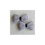 Maya Road - Candy Stripe Bows - Licorice