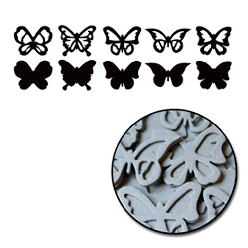 Maya Road - Chipboard Collection - Chipboard Mini Set - Butterflies