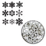 Maya Road - Chipboard Collection - Chipboard Set - Snowflake