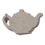 Maya Road - Chipboard Collection - Chipboard Book - Tea Pot, CLEARANCE