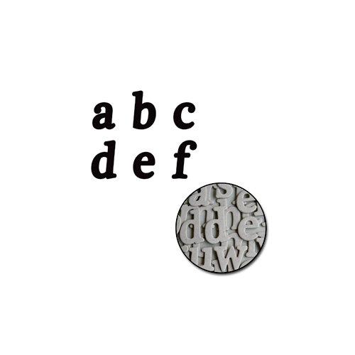 Maya Road - Chipboard Set - Mini - Patti Alphabet