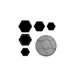 Maya Road - Chipboard Set - Hexagons