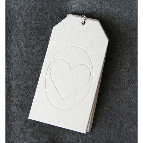 Maya Road - Chipboard Book - Love Shipping Tag Coaster Album