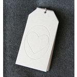 Maya Road - Chipboard Book - Love Shipping Tag Coaster Album