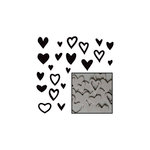 Maya Road - Chipboard Set - Mini - Heart Confetti