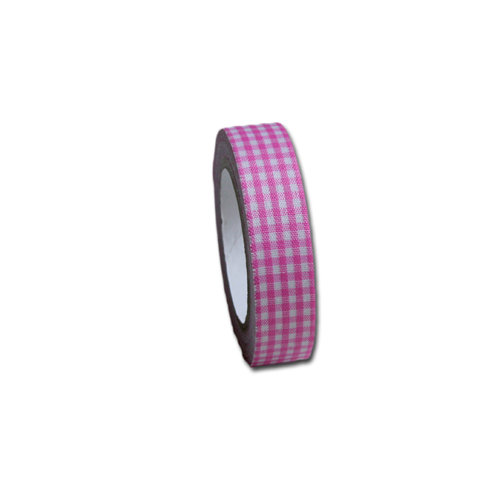Maya Road - Fabric Tape - Gingham - Blossom Pink