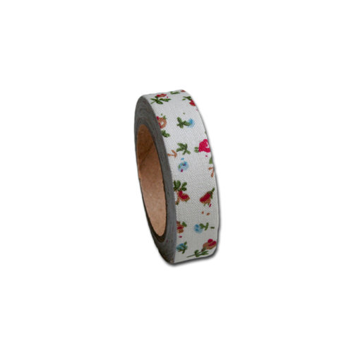 Maya Road - Fabric Tape - Flower - Floral Garden
