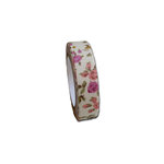 Maya Road - Fabric Tape - Rose Blossoms - Lace Cream