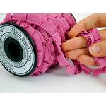 Maya Road - Trim Collection - Grosgrain Pleat Ribbon - Pink - 20 Yards