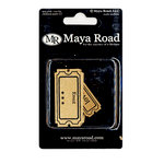 Maya Road - Kraft Collection - Mini Tickets, CLEARANCE