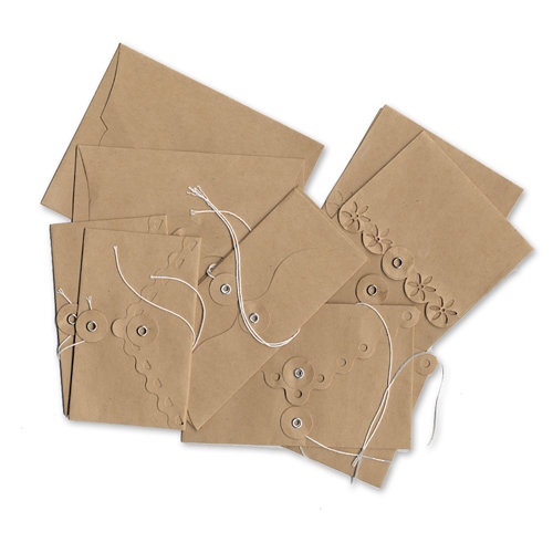 Maya Road - Kraft Collection - Envelopes - Decorative