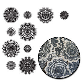 Maya Road - Kraft Collection - Doilies