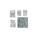 Maya Road - Kraft Die Cut Pieces - Our Town - White