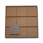 Maya Road - Chipboard Collection - Mementos Chipboard - Trinket Shadow Box