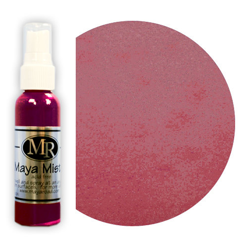 Maya Road - Maya Mists Spray - 2 Ounce Bottle - Raspberry Pink