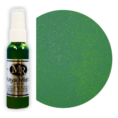Maya Road - Maya Mists Spray - 2 Ounce Bottle - Seafoam Green