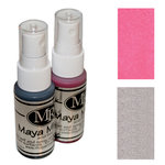 Maya Road - Maya Mists Spray - 2 Bottle Sampler Pack - Pink Lemonade and Iridescent Pearl, CLEARANCE