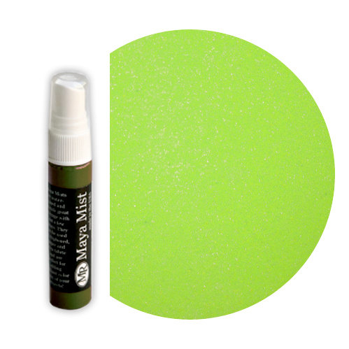 Maya Road - Maya Mists Spray - 1 Ounce Bottle - Lime Metallic Mist