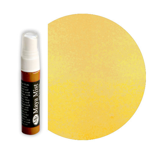Maya Road - Maya Mists Spray - 1 Ounce Bottle - Sunflower Yellow